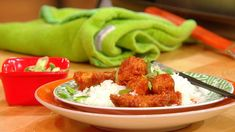 From The Rachael Ray Show... Daddy Wu's Chicken (Sweet & Sour).  THE MOST DOWNLOADED VIDEO this week.  Rachael's staff loves it so much they practically inhaled it.
