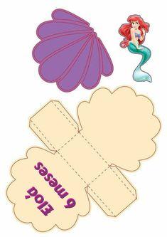 Ariel, Cookie Cutters, Cookies, Mermaid, Boxes, Crack Crackers, Biscuits, Cookie Recipes, Cookie