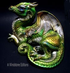 Elvish dragon by Reptangle.deviantart.com on @deviantART