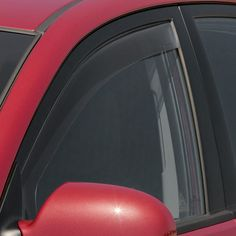 WeatherTech 80452 Series Dark Smoke Front Side Window Deflectors - Side Window Deflectors WeatherTech(R) Side Window Deflectors, offer fresh air enjoyment with an original equipment look, installing within the window channel. They are crafted from the finest 3mm acrylic material available. Installation is quick and easy, with no exterior tape needed. WeatherTech(R) Side Window Deflectors are precision-machined to perfectly fit your vehicle's window channel. These low profile window…