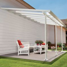 Feria™ 10 ft. H x 26 ft. W x 13 ft. D Patio Cover Awning