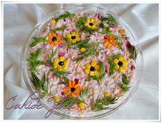 çay saatleri için salata tarifi