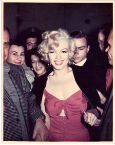 1950s, Marilyn Monroe.