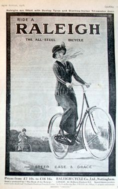 Interviewed in New York World in 1896, Susan B. Anthony declared that bicycling had 'done more to emancipate women than anything else in the world.' Previously, women had had some difficulty to travel alone, let alone to own their own means of transportation. Though, at first, bicycles were expensive, and were also large machines unsuited to female riding, by the 1920s working class people could at last own their own vehicle. And women could ride on their own, without male supervision.