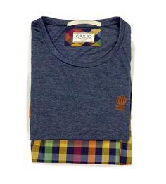 Pijamas para HOMBRE Giulio de manga y pantalón corto. Perfectos para los meses cálidos del año. 100% algodón. + modelos en varelaintimo.com. OFERTAS