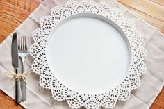 100 Lace Charger Plates Chargers Place $950