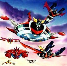 Devilman Amon, Real Robots, Arte Robot, Retro Cartoons, Mecha Anime, Super Robot, Illustrations And Posters, Gundam, Geek Stuff