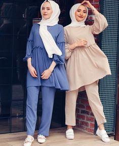 Hijab Fashion Summer, Modest Fashion Hijab, Modern Hijab Fashion, Muslim Women Fashion, Street Hijab Fashion, Pakistani Fashion Casual, Hijab Fashion Inspiration, Mode Outfits, Fashion Outfits