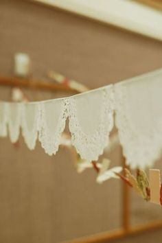 all things simple: relief society party with Vintage pictures and advertisements. Baby Baptism, Baptism Party, Christening, Baptism Dress, Doily Garland, Party Garland, Happy Birthday B, Birthday Ideas, Diy Room Decor