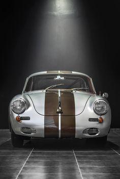 Visit The MACHINE Shop Café... ❤ Best Porsche's @ MACHINE ❤ (The PORSCHE 356 SC Coupé)