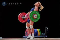 Lidia Valentin, the most famous female exponent of weightlifting.