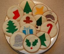 Christmas Sugar Cookies 4x4
