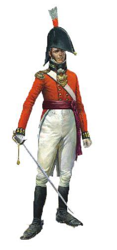 British Officer 23rd Reg. Foot.