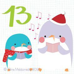 Advent Calendar 2013 © Gina Maldonado 2013