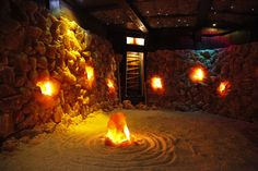 Asheville's therapeutic Salt Cave and Salt spa Asheville, nc