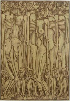 Zdzislaw Beksinski - Bocetos, dibujos y delirios [Arte] - Luciernaga Curiosa - Taringa! Kandinsky Prints, Wassily Kandinsky, Art Database, Print Artist, Gravure, Figurative Art, Dark Art, Gouache, Painting & Drawing
