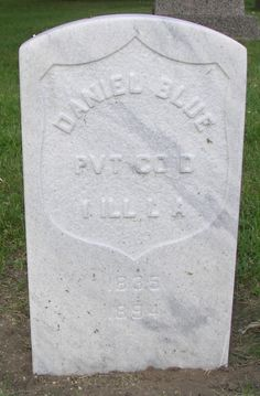 Daniel Blue - my great uncle.