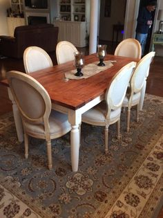 This Is My New Dining Room Chairs From TJ Maxx Table Craigs List