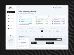 Wireframe Design, Dashboard Ui, You Working, Web Design Inspiration, Hello Everyone, Rome, Calendar, Instagram Posts, Desktop