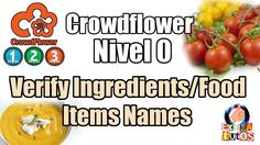 Verify Ingredients/Food Items Names | Mini Trabajos CROWDFLOWER ESPAÑOL ...