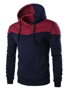 GET $50 NOW | Join RoseGal: Get YOUR $50 NOW!http://m.rosegal.com/mens-hoodies-sweatshirts/classic-color-block-front-pocket-hooded-long-sleeves-hoodie-for-men-509084.html?seid=6926387rg509084