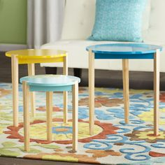Reeves 3 Piece Nesting Tables