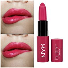 NYX Butter Lipstick sweet tart thisss