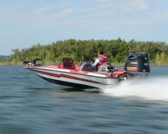 New 2012 Bass Cat Boats Pantera II Bass Boat Charging to the Sweet Spot!