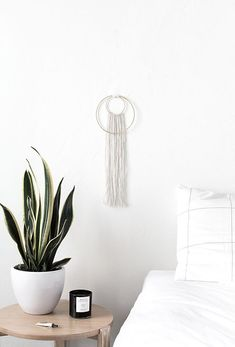 DIY Double Ring Wall Hanging - Homey Oh My