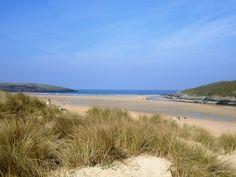 Crantock National Trust Beach, Near Newquay, Cornwall. Beautiful!