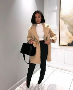 45 trendy winter fits for speedy buying 32 winter outfits Winter Fashion Outfits, Fall Winter Outfits, Look Fashion, Autumn Fashion, Womens Fashion, Winter Clothes, Black Girl Fashion, Ladies Fashion, Classic Fashion