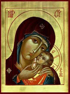 The Mother of God   Icons by Father Vladimir