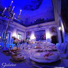 Blue dinner @Palazzo Capponi, Firenze