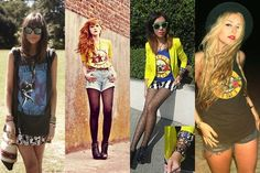 Annabel Wendt | Chloe D | Monica Seet | Nicole Alyse Rave, Chloe, Punk, Passion, My Style, War, Raves, Punk Rock
