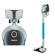 Hoover REACT Cordless Stick Vacuum - FloorSense Technology that detect changing floor types and automatically adjusts brush roll speed for the best results Steam Cleaners, Vacuum Cleaners, Electric Broom, Cleaning Cupboard, Vacuum Reviews, Cordless Vacuum Cleaner, Spot Cleaner, Design Case, Product Design