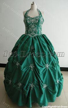 Ball Gown Princess Strapless Long / Floor-Length Taffeta Quinceanera Dress 3478:1st-dress.com