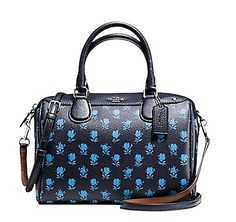 Coach Badlands Floral Mini Bennett F38160 Midnight Multi Satchel. Save 56% on the Coach Badlands Floral Mini Bennett F38160 Midnight Multi Satchel! This satchel is a top 10 member favorite on Tradesy. See how much you can save