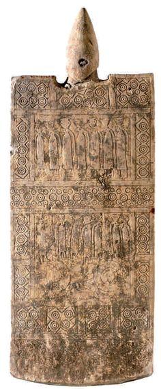 Stele daunia - VII-VI secolo a.C. (Manfredonia, Museo Archeologico Nazionale)