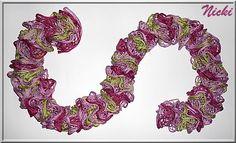 Tonia I Nicki's Kreativseite Crochet Necklace, Knitting, Knitting Needles, Scarves, Breien, Tricot, Stricken, Weaving, Knits