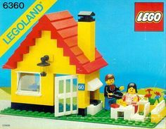 Thousands of complete LEGO building instructions by theme. Here you can find step by step instructions for most LEGO sets. All of them are available for free. Vintage Lego, Lego Duplo, Lego City, Lego Storage Brick, Toy Storage, Storage Ideas, Modele Lego, Weekend Cottages, Classic Lego