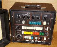 MATRIXSYNTH: MTI Auto Orchestra Vintage Drum Machine with Synth...