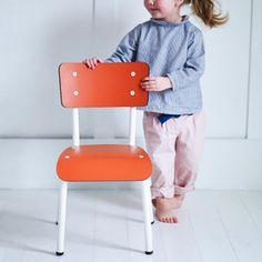 Retro Mini Chair Pumpkin Orange