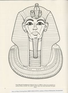 Illustrations by Peter F. Copeland, Text by John H. Martin, 1000152766, Collection of the Rakow Research Library, The Corning Museum of Glass, Corning, New York. Corning Museum Of Glass, Egypt, Collections, Illustrations, York, Create, Image, Tatoo, Coloring Pages