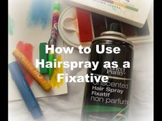 how to use hairspray as a fixative/ Applying spray fixative / How to seal artwork Pastel Artwork, Oil Pastel Art, Pastel Drawing, Pastel Paintings, Chalk Pastels, Oil Pastels, Tole Painting Patterns, Chalk Drawings, Glue Crafts