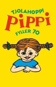 Pippi Longstocking 70 years. Illustration by Ingrid Vang Nyman
