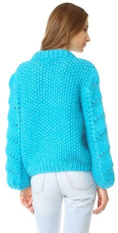 Ganni The Julliard Mohair Sweater | SHOPBOP
