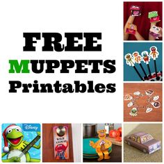Muppet Monday: FREE Muppets Printables and More