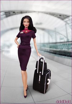 It's kinda scary how real this barbie looks :O LOVE the outfit :P