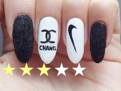 Nail Art Facile : Marques 2♡ - YouTube