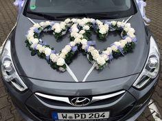 Blumen Sanders - Hochzeit - Autodeko
